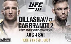UFC 227: Диллашоу — Коди Гарбрандт  видео боев