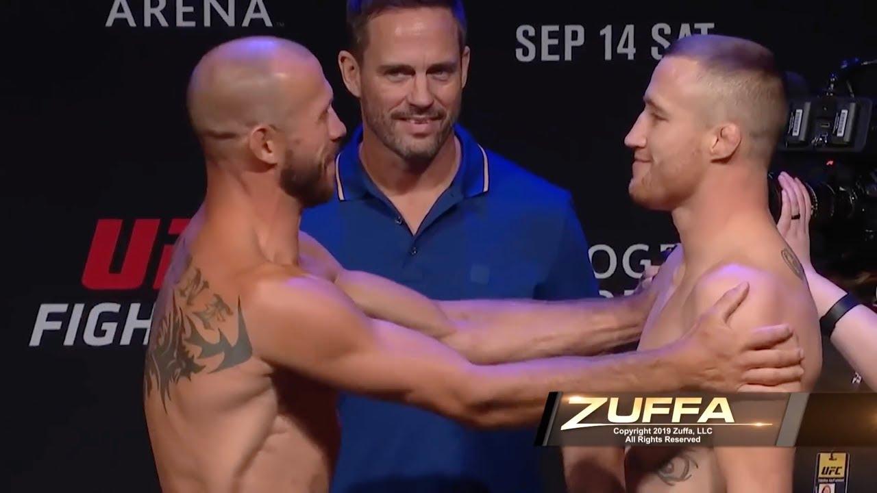 Прямая трансляция UFC Fight Night 158 Серроне и Гэтжи