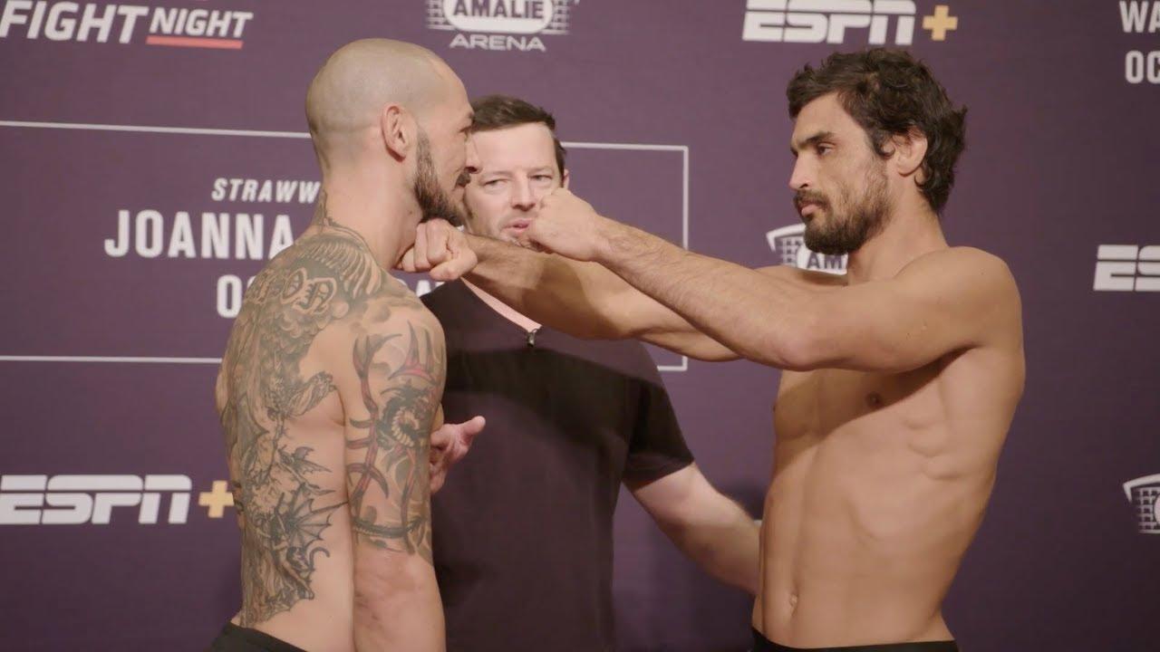UFC Fight Night 161 Прямая трансляция