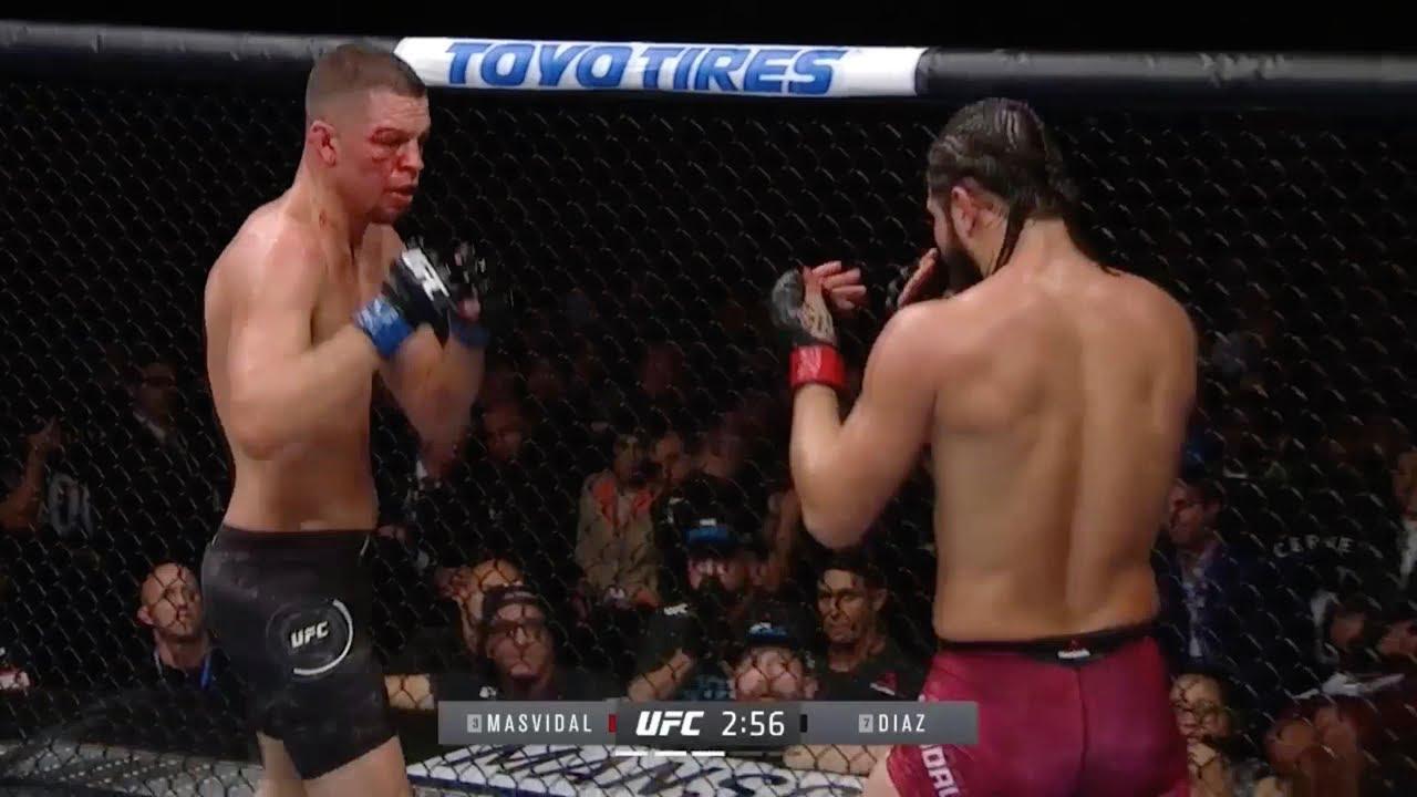 UFC 244 видео боев