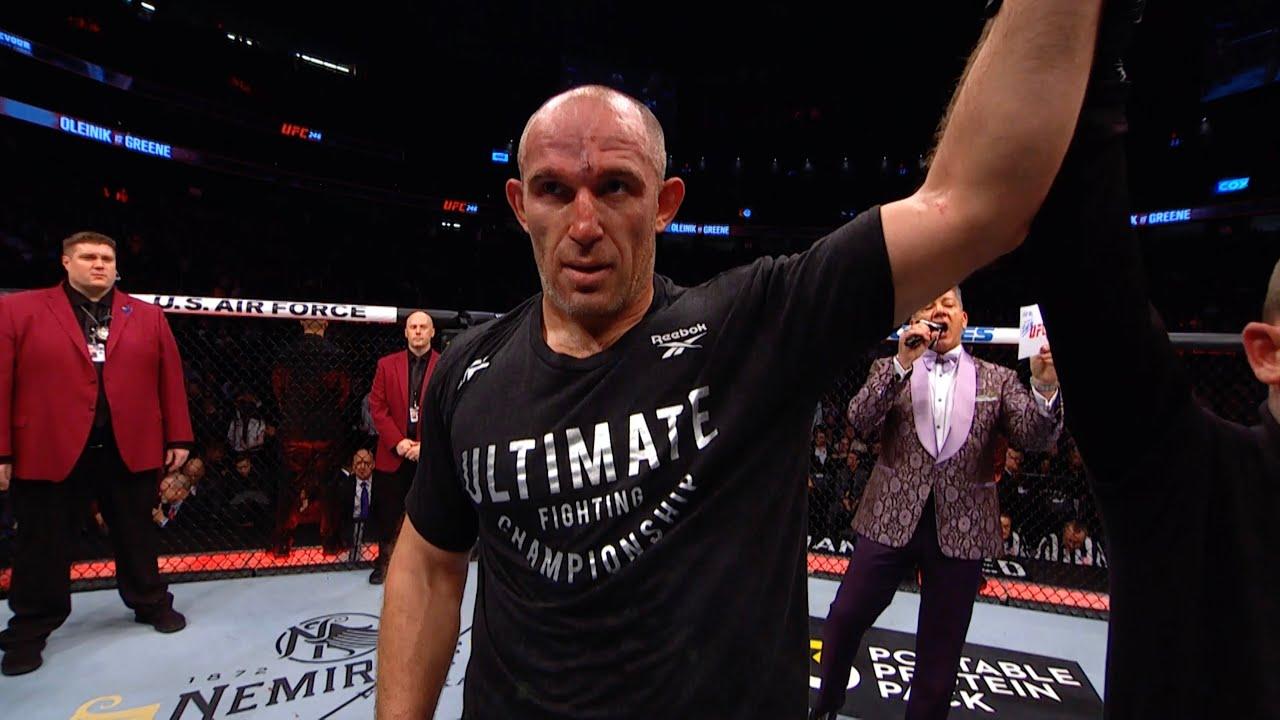 Лучшие финиши Алексея Олейника в UFC