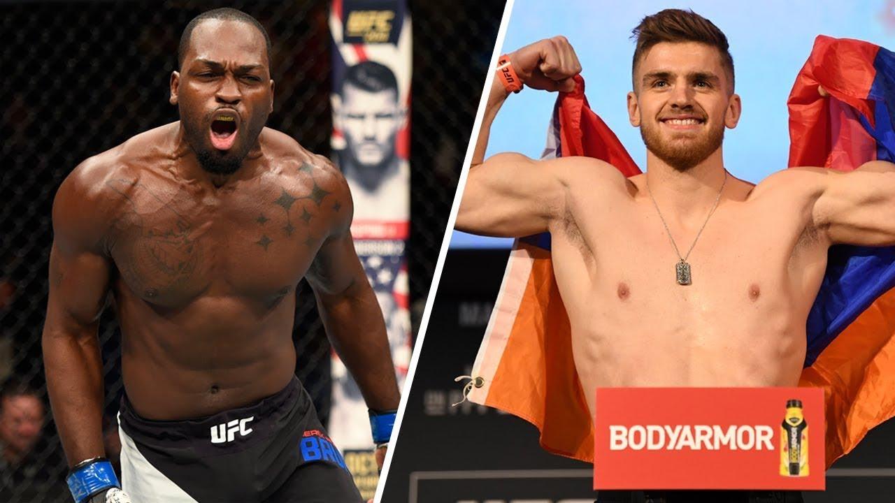 UFC Fight Night 173: Брансон - Шахбазян прямая трансляция