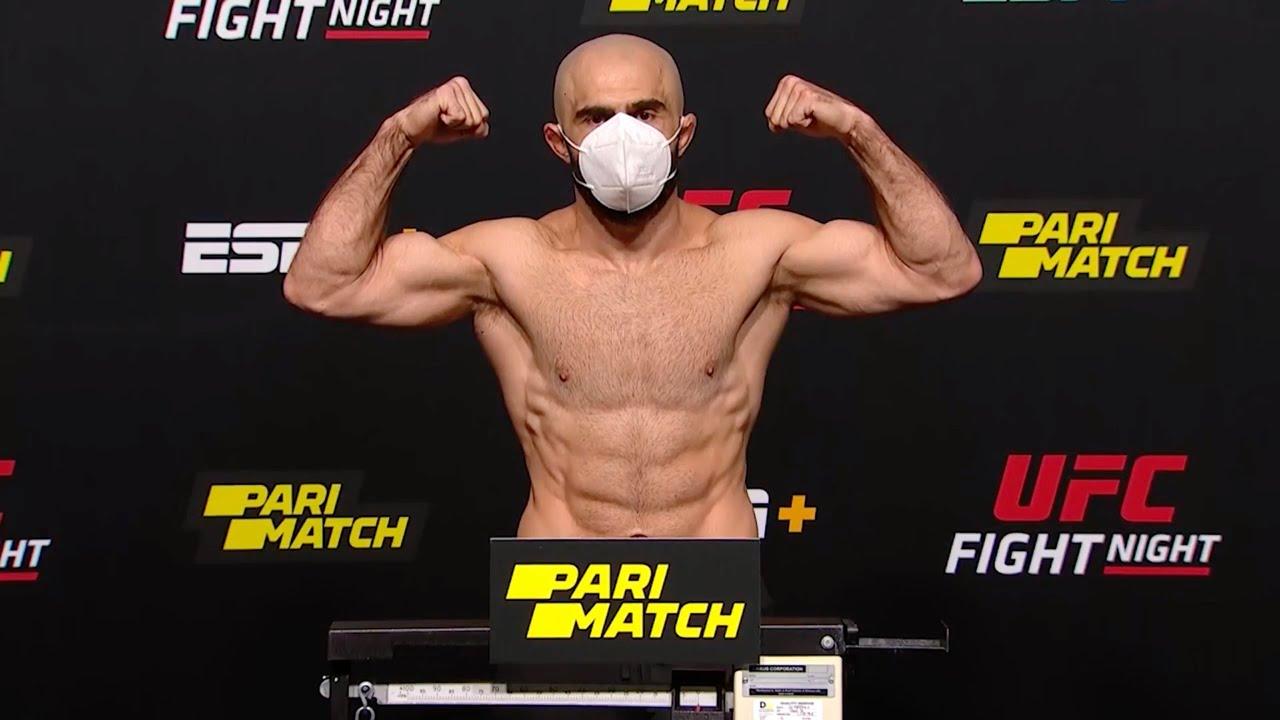 UFC Fight Night 174: Прямая трансляция