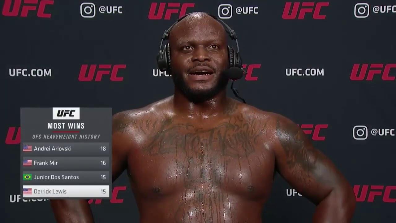 UFC Вегас 6: Деррик Льюис - Слова после боя