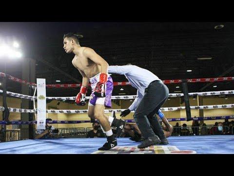 Потрясающий нокаут: Мелвин Лопес буквально «выключил» своего соперника