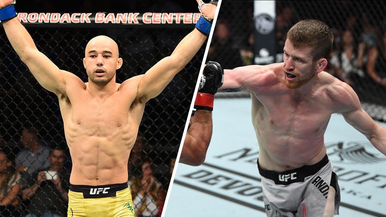 UFC Fight Night 179 прямая трансляция