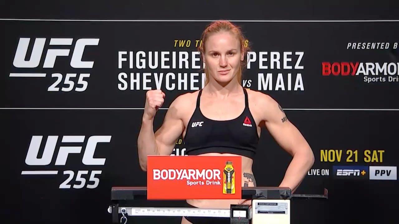 UFC 255: Церемония взвешивания