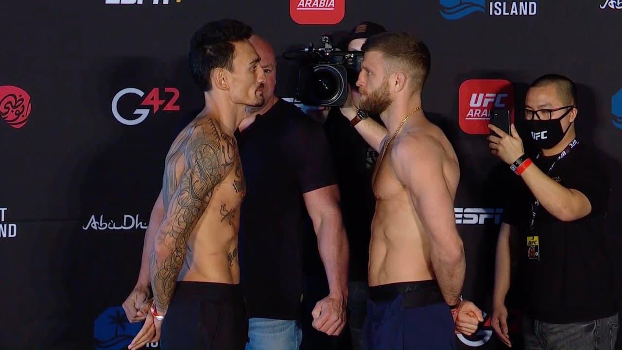 UFC on ABC 1 прямая трансляция