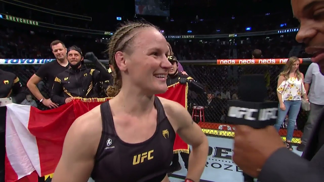 UFC 266: Валентина Шевченко - Слова после боя